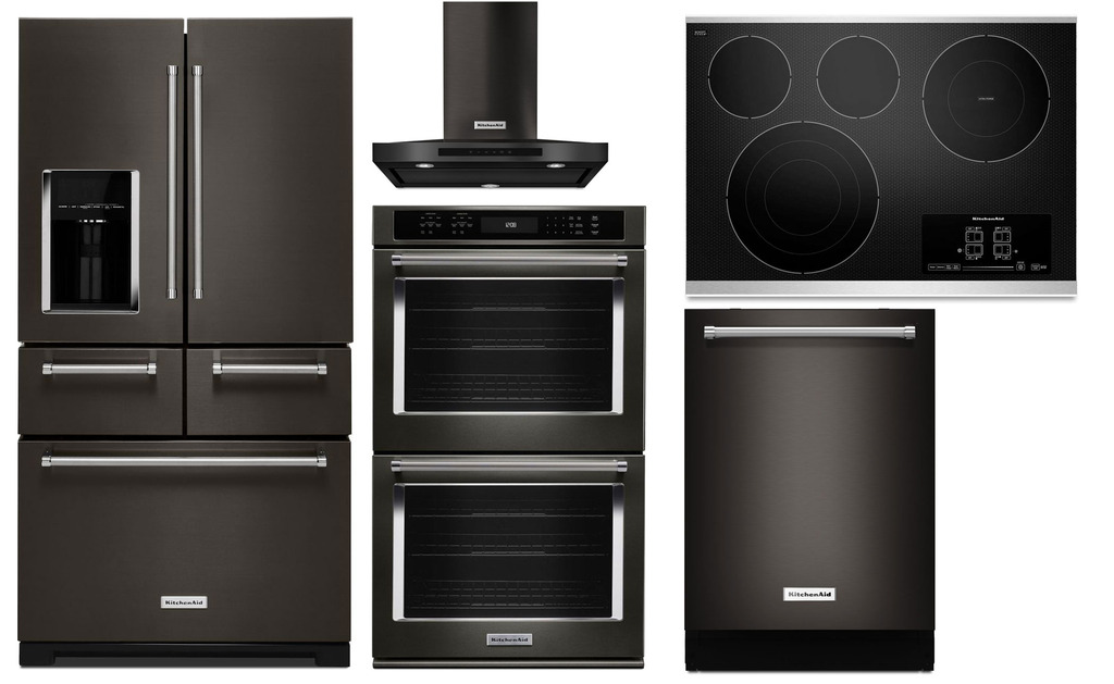 Black Stainless Steel Kitchen Appliance Packages