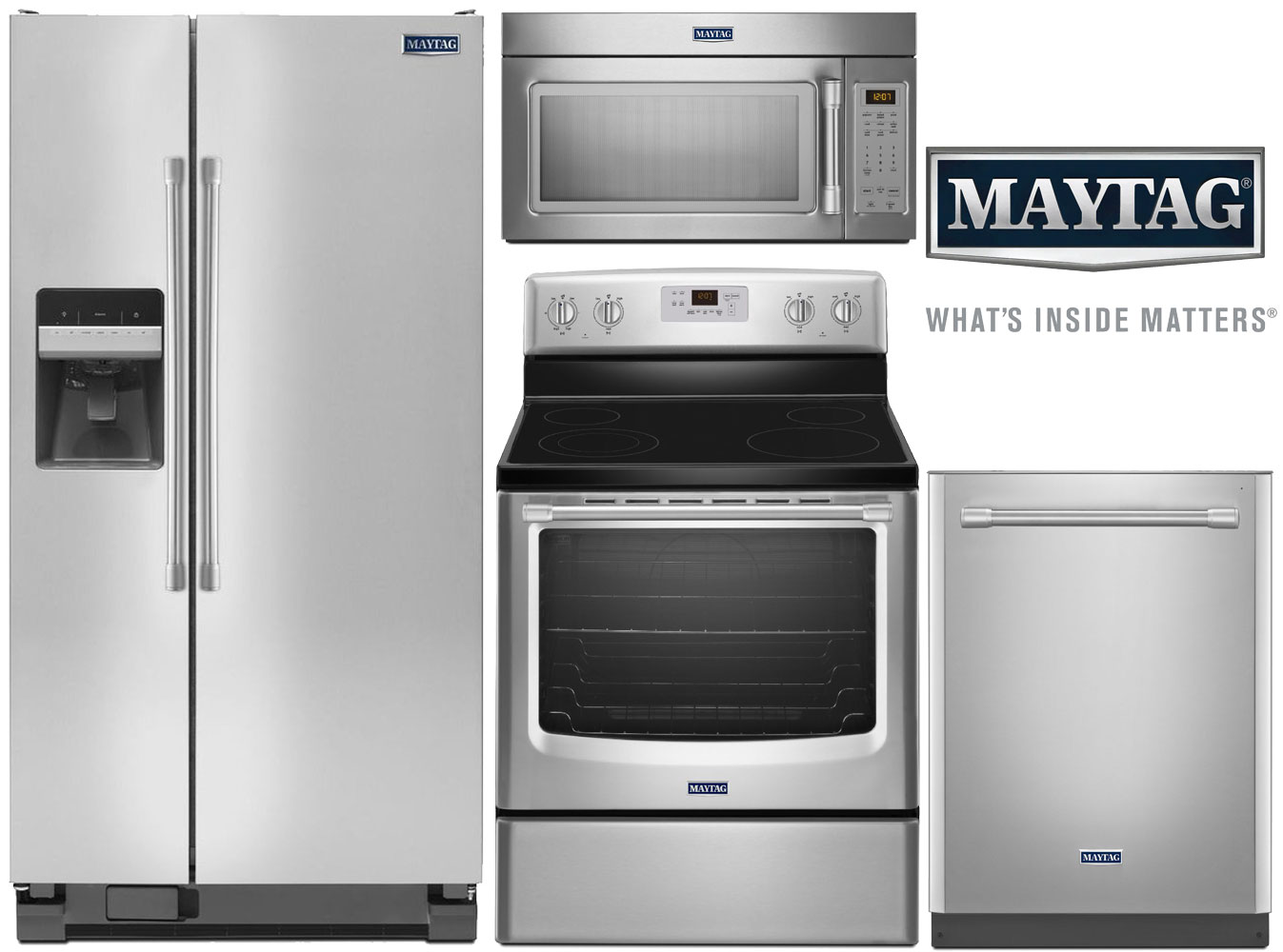 Maytag Stainless Steel Appliance Package L